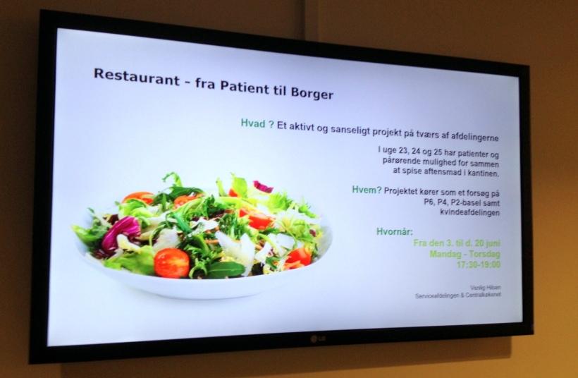 Restaurant - fra Patient til Borger